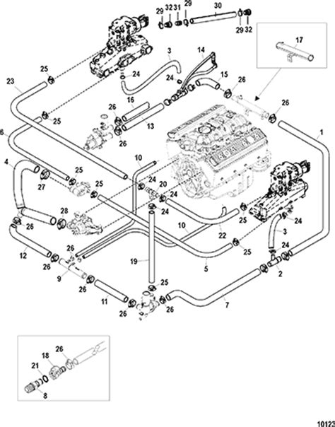 3 5l Engine Flow Diagram by Cp Performance Standard Cooling System Bravo Single