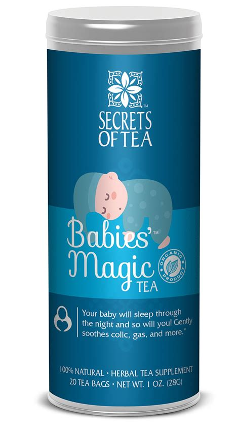 Secrets Of Tea Baby Colic Babies Magic Tea Organic