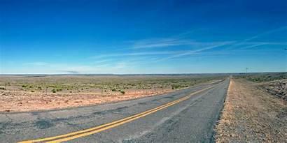 Oklahoma Oeda Panhandle Landscape Highway Robbery State