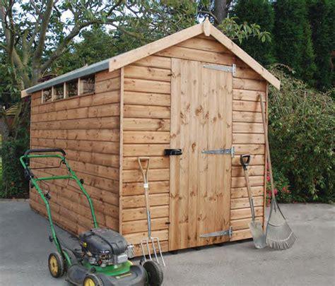 garden shed alarms security apex pent regency garden buildings