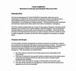 disaster recovery disaster recovery plan free premium With disaster recovery communication plan template