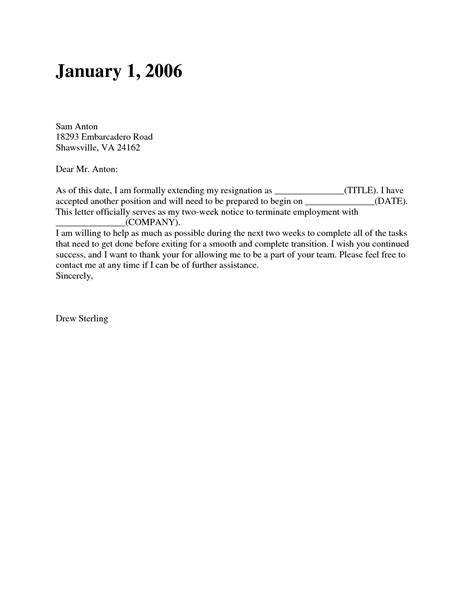 Resignation Letters No Notice Lovely Two Weeks' Notice Resignation Letter Samples in 2020 (With