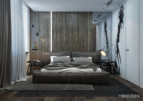 A And Calming Bachelor Pad With Wood And Concrete by A And Calming Bachelor Pad With Wood And