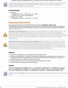 Aruba Networks Apinh303 802 11a  B  G  N  Ac Wireless Access