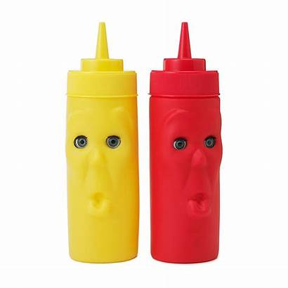 Ketchup Mustard Bottles Condiment Bottle Blink Condiments