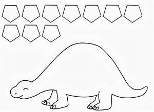 twanneke dinosaur shapes pentagon shapes dinosaurs With dinosaur templates to print
