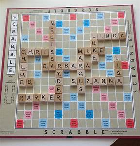 Champagne Thursdays: Scrabble Projects