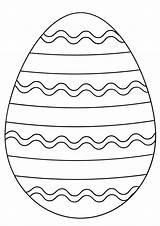 Coloring Easter Egg Pages Osterei Printable Preschoolers Supercoloring Ausmalen Ostereier Paper Gemerkt Von Ausmalbilder Super sketch template