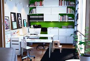 Ikea workspace organization ideas 2012 digsdigs for Ikea home office design ideas