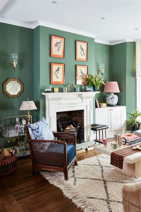 25 green living room ideas that are the