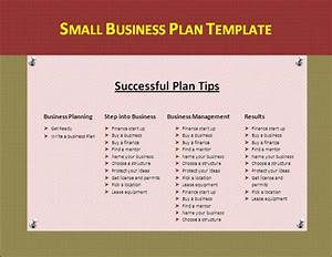 small business plan template by formsword With simple marketing plan template for small business