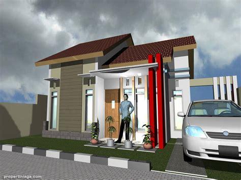 contoh desain rumah minimalis modern properti niaga