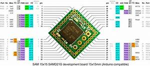 Sam 15x15 Is A Tiny Arduino Zero Compatible Board Based On