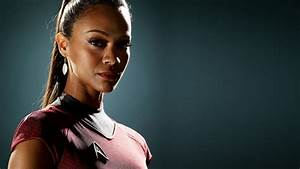 Zoe Saldana Star Trek - wallpaper.