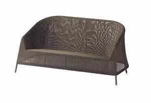 Lounge Sofa 2 Sitzer Outdoor : cane line kingston 2 sitzer lounge sofa von ~ Whattoseeinmadrid.com Haus und Dekorationen