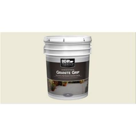 behr 5 gal 65005 gray granite grip interior exterior