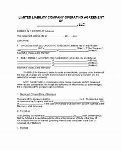 30 free professional llc operating agreement templates With operation agreement llc template