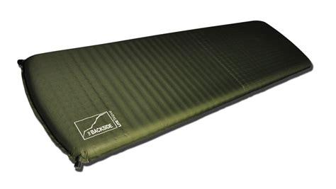 self inflating air mattress the backside self inflating premium litewave backpacking