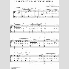 The Twelve Days Of Christmas Sheet Music  For Piano And More Sheetmusicnowcom