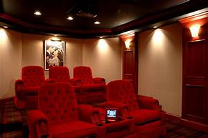 Home Theater And Spillover Space Interiors Indian House
