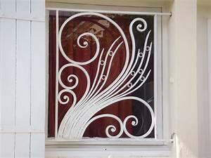 Grille Fenetre Fer Forgé : ferronnerie d 39 art atelier fer emeraude bordeaux portail ~ Dailycaller-alerts.com Idées de Décoration