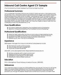 cv template call center With call center agent resume