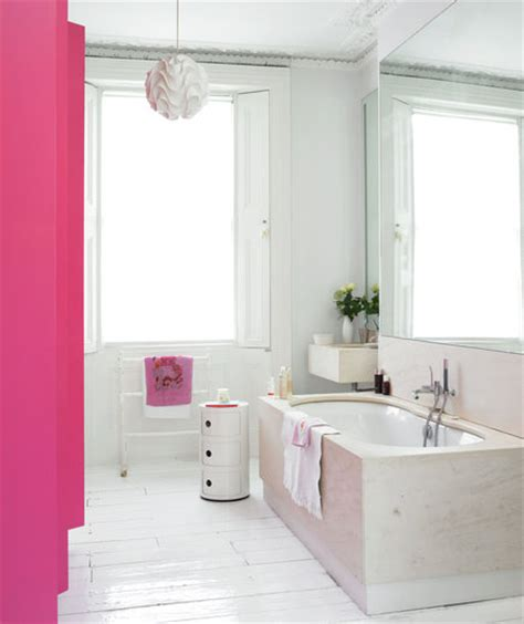 pink bathroom ideas pink and white bathrooms splash of pink 15 great bathroom