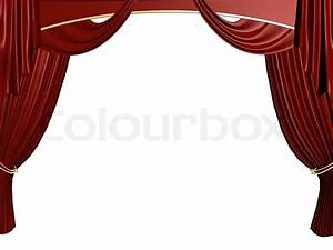 open red theater curtain background stock photo colourbox With open red curtain background