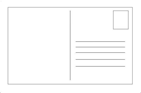 Template Postcard Template For Word Postcard Template Word All About Letter Exles