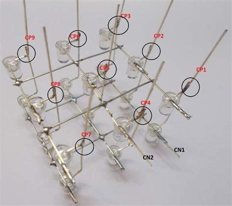 diy 3x3x3 led cube using arduino
