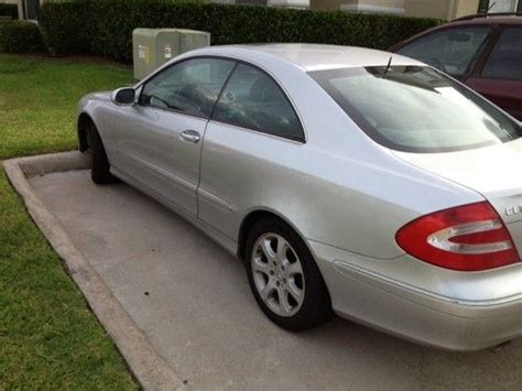 how does cars work 2003 mercedes benz clk class windshield wipe control sell used 2003 mercedes clk 320 coupe in houston texas united states