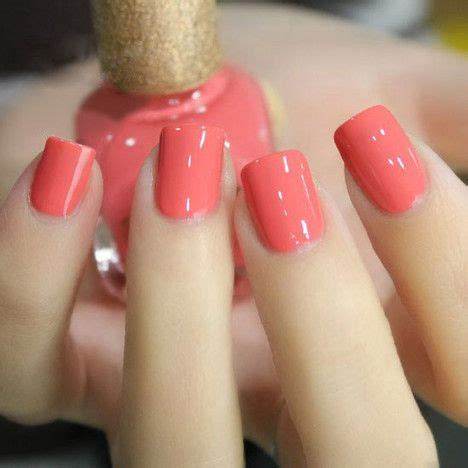 38 Summer Nail Art Designs and Colors 2018 | Nails | Pinterest | Coral pink Varnishes and Manicure
