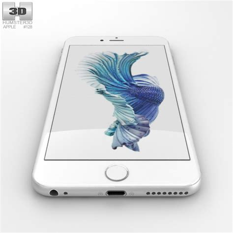 iphone 6s plus models apple iphone 6s plus silver 3d model humster3d