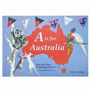 Australia Colouring Book for Australiana Gifts – Bits of