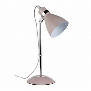 Lampe De Bureau Fille : lampe de bureau en m tal rose h 38 cm pix maisons du monde ~ Dailycaller-alerts.com Idées de Décoration