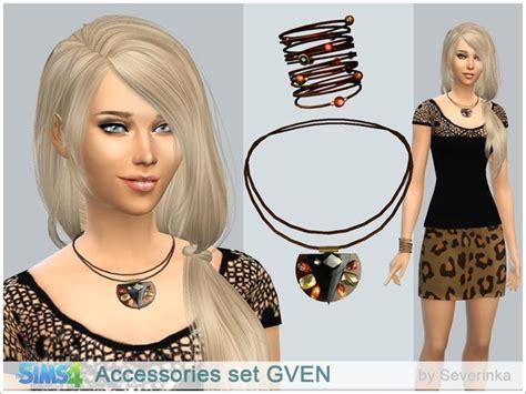 The Sims 4 Custom Content Gven Accessories