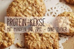 Backen Ohne Mehl Und Zucker : protein kekse mit mandeln und zimt ohne zucker rezept backen pinterest kekse kekse ohne ~ Buech-reservation.com Haus und Dekorationen