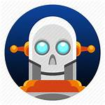 Android Icon Bot Skull App Robot Droid