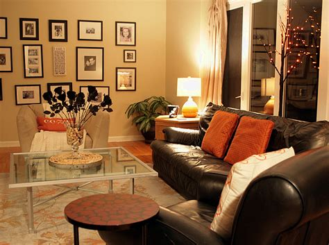 charming living room fall decorating ideas intended