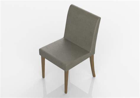 sedia 3d sedie 3d sedia con seduta in pelle acca software