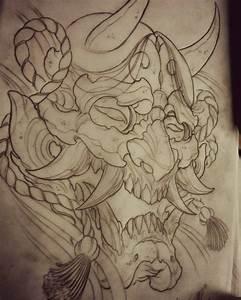 Demon Japonais Dessin : japanese hannya design tatouages pinterest tatouage japon tatouage masque et tatouage ~ Maxctalentgroup.com Avis de Voitures