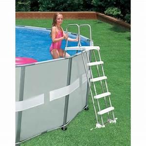 Echelle De Piscine Pas Cher : echelle piscine 5 marches achat vente pas cher ~ Melissatoandfro.com Idées de Décoration