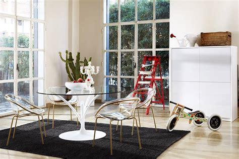 tavolo cristallo calligaris tavoli con sostegno centrale cose di casa