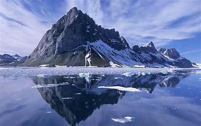 Mountain Mountains Wallpapers Rivers Nature Desktop Snow