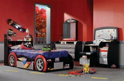 race car room decor car cars kids beds decorating design