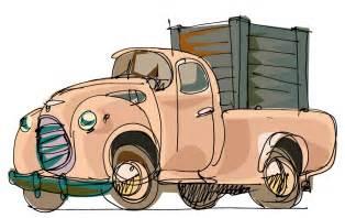 Cartoon Hand Truck