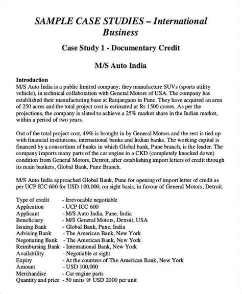 Case study researchers claim that case studies have a better grasp of complex causes but other researches claim that the more complex a study this field is referring to the state of maturity of the research in a given field. 37+ Case Study Templates - Word, PDF, Pages | Free ...