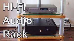 Hi Fi Rack : diy hi fi audio rack youtube ~ Whattoseeinmadrid.com Haus und Dekorationen