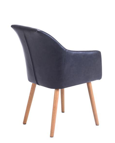 chaise de style chaise de visiteur avec accoudoirs style scandinave dot