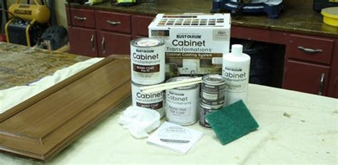 Deglosser For Cabinets by Rust Oleum Cabinet Transformations Painting Kit Today S